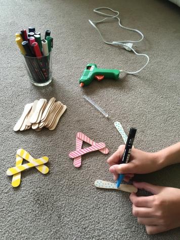 decoramos las letras