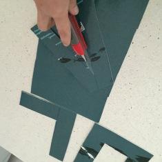 cortamos las letras