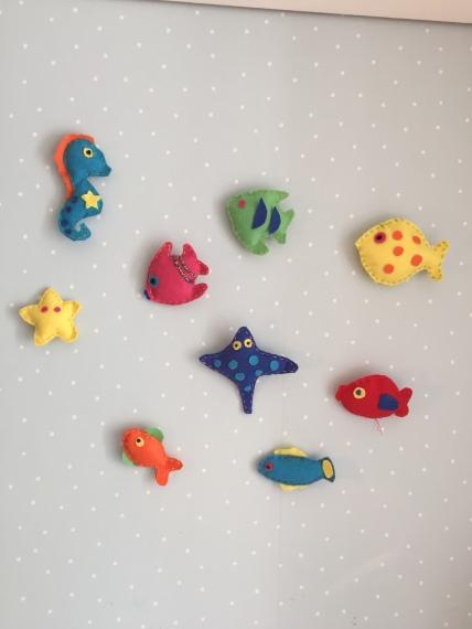 peces de fieltro
