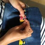 cosemos los abalorios al bolso