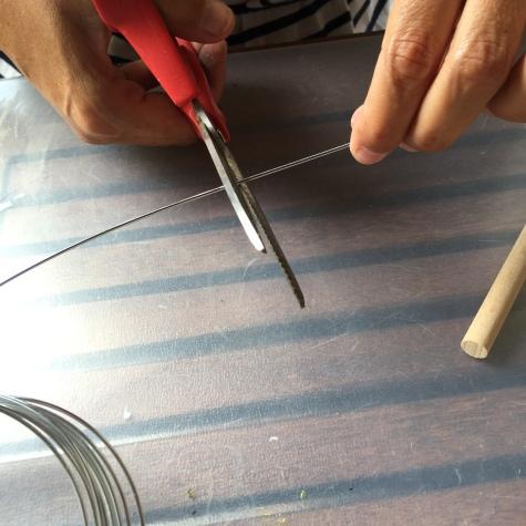 cortamos el alambre
