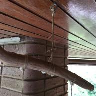 campanas de viento: colgamos del techo
