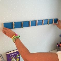 fijamos el calendario en la pared