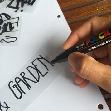 pintamos las letras