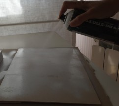 Usamos pintura en Spray