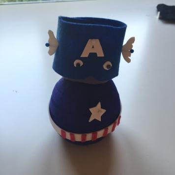 planteamos el capitán américa