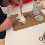 pintamos las bases con chalk paint y dejamos secar