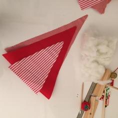 tenemos las tres plantillas de triángulos