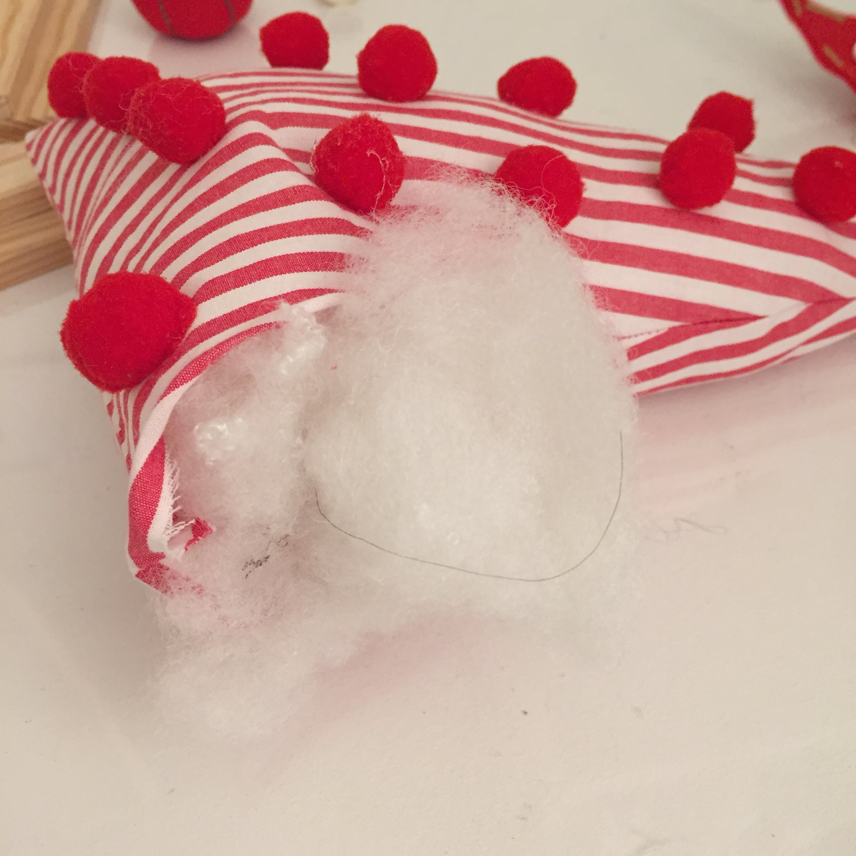 metemos el algodón sintético