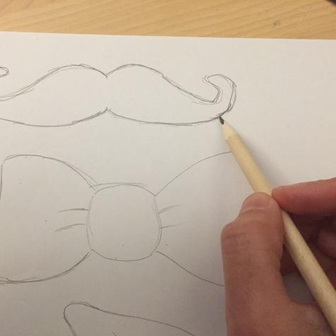 dibujamos las plantillas