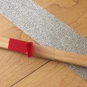 pegamos el marco de goma eva al marco de madera