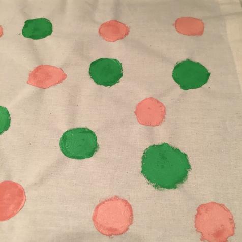 18. DIY_totebag_personalizada_chalkpaint_ topos_colores_topos_verdes